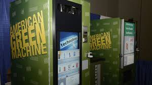 American Green Vending Machine Unique CoinOp Pot American Green Makes Vending Machines For Cannabis A