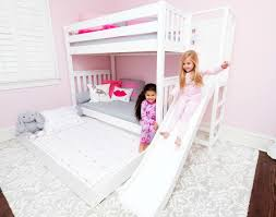 bunk beds with slides for girls. Fine Girls Weu0027re Showing It Here With A Twinovertwin Bunk Bed Called The Poof Just  Add An Optional Trundle To Complete Look With Bunk Beds Slides For Girls O