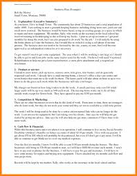 Writing A Good Resume Business Plan Examples Resume Sections Sample Of Pdf Agriculture 89