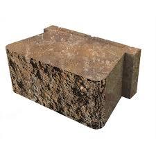 belgard palmer toscana retaining wall block common 5 in x 12 in