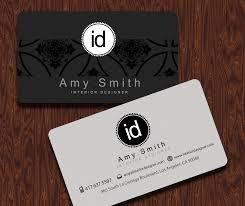 business cards interior design. Interior Design Business Cards Designer Card Templates On At For E
