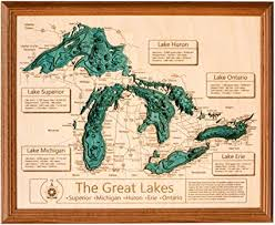 Lake Mi Depth Chart Amazon Com Pine Lake Oakland County Mi 3d Map 24 X 30
