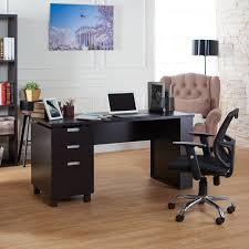 Furniture of America Tuston Espresso Office Desk with Built-in File Cabinet  - Free Shipping Today - Overstock.com - 17563620