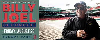 Fenway Park Concert Seating Chart Billy Joel Boston Red Sox And Live Nation Announce Fenway Parks First
