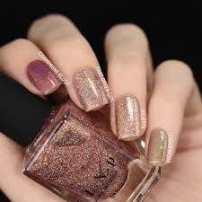 That Other <b>Girl</b> - <b>Rose</b> Gold Ultra Holographic <b>Nail Polish</b> by ILNP in ...