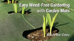 garden mats. GardenMats Weed Barrier - 2017 Infomercial Garden Mats