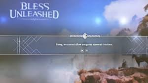Why im getting this error? My ps store region is from us but im playing in  middle east : blessunleashed