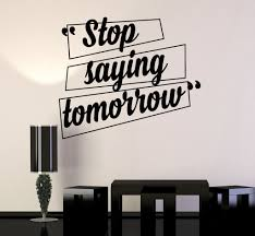 Office Wall Design Inspiration Vinyl Wall Decal Motivation Quotes Office Home Inspiration