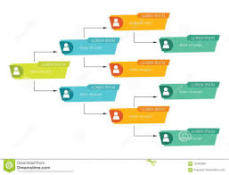 Business Structure Chart Colorful Business Structure Concept Corporate Organization