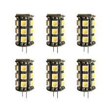 Elitco Lighting G4led504 6pk Household Light Bulbs Led G4
