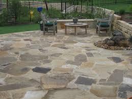 flagstone patio houses flooring picture ideas blogule