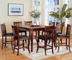 Cherry Wood Kitchen Table Sets Coaster Newhouse 100508 100509 Brown Wood Pub Table Set In Los