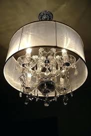chandelier with drum shade miscellaneous lighting drum shade chandelier chandelier from shades of light large drum