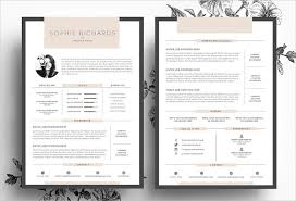 Unique Resume Interesting Unique Resumes Free PSD WORD PDF Document Download Free