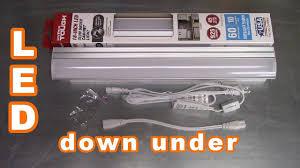 Hyper Tough Grow Light Walmart Hyper Tough Led Slim Under Cabinet Light Install