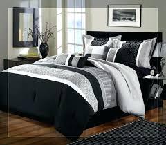 black striped comforter duvet covers king black and white horizontal striped bedding trend medium size of