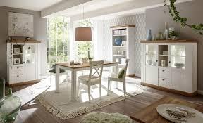 Imv Landhaus Speisezimmer 3 Esszimmer Set Dekor Pinie Weiß