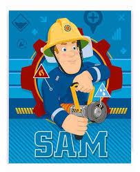 Null Fireman Sam Blanket Colorful Bedding