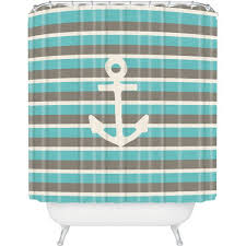 deny designs bianca green anchor 1 shower curtain 80 liked on polyvore featuring