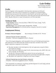 Software Engineering Resume Example Software Engineer Resume Summary Professional 5 Years Experience