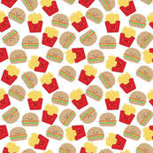 hamburger and fries wallpaper. Beautiful Hamburger Burger And Fries On White Small Scale Inside Hamburger And Wallpaper