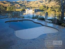automatic swimming pool cover security for freeform pools