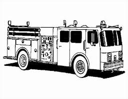 Free Fire Truck Coloring Pages Printable Stylish Fire Truck Coloring