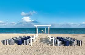 Turquoise And White Wedding Decorations Palace Resorts