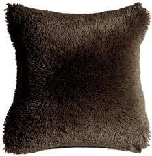 soft throw pillows. Interesting Throw Soft Plush Brown 20x20 Throw Pillow Intended Pillows T