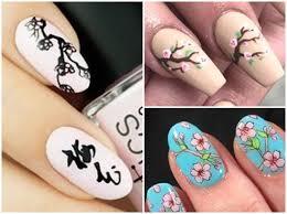 海外でも人気お花見前にチェックしたい桜のかわいいネイルデザイン集
