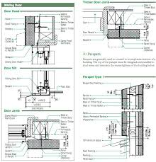 astounding pocket door detail sliding door track detail dwg