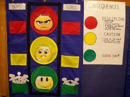 Traffic Light Reward Chart Traffic Light Discipline Chart Ive Also Seen This Done On
