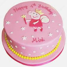 Peppa Pig Cake Ideas Buttercream Birthdaycakeformenga