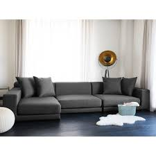 Gray Living Room Design Gorgeous Shop Modular Sectional Sofa Gray Fabric R CLOUD Free Shipping