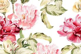 beautiful watercolor flowers example image 4