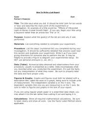 Writing A Lab Report Introduction   Professional Writing Service Document image preview