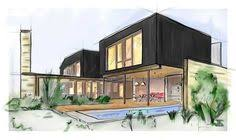 illustration architectural drawing modern house projects architectural drawings of modern houses48 modern
