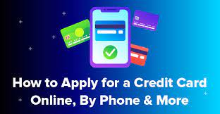 Apply online once you've picked your favorite credit card, it's time to apply. How To Apply For A Credit Card Online By Phone More