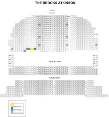 Brooks Atkinson Seating Chart Brooks Atkinson Theatre Seating Chart Theatre In New York