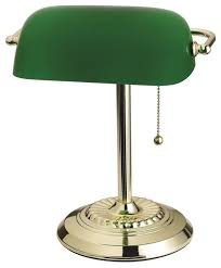 living accents bankers lamp brass eclectic desk lamps