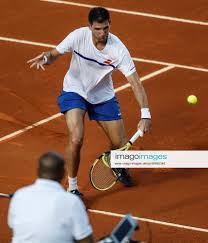 Sportfoto Argentina s Federico Delbonis in action again