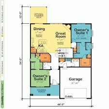 Beverly B Dual Master Suite House Plan  Schumacher HomesDual Master Suite Home Plans