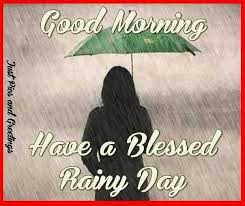 Good Rainy Morning Quotes Best Of Good Morning Have A Blessed Rainy Day QUote Pictures Photos And