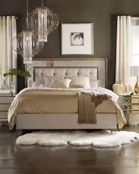 california king bed. Ilyse Mirrored California King Bed