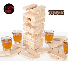 Game With Wooden Blocks Mini Jenga Wood Stacked Bricks 100 Stacking Wooden Blocks Table 56