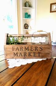 vintage french soul old vintage farmers market wooden toolbox by pickinwildflowerstn