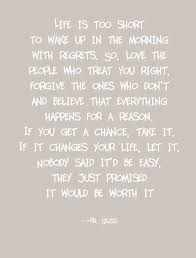 Life Is Too Short Quotes Gorgeous 48 By 48 Digital Print With A Great Quote By Dr Seuss It Is Printed