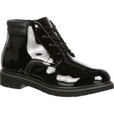 rocky dress leather high gloss chukka large