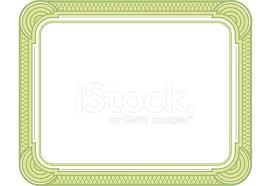 Certificado En Blanco Stock Vector Freeimages Com