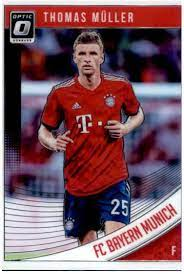 Amazon.com: 2018-19 Donruss Optic #18 Thomas Muller FC Bayern Munich  Official Panini Soccer 2018-2019 Futbol Trading Card: Collectibles & Fine  Art